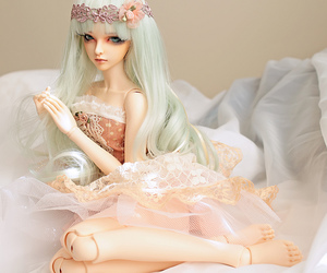 elegant, graceful, and fairy doll image