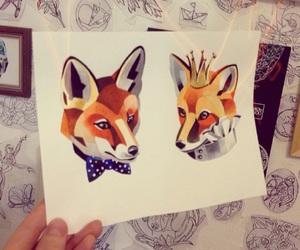 fox, tattoo, and Эскиз image
