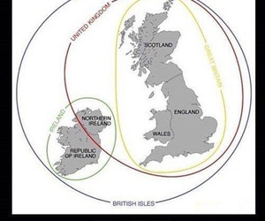 british, ireland, and uk image