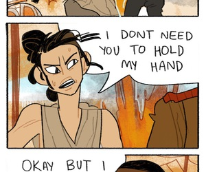 star wars, funny, and the force awakens image