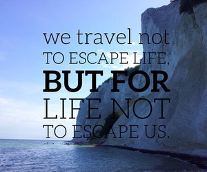 escape, travel, and life image