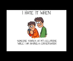 hate, phone, and friends image