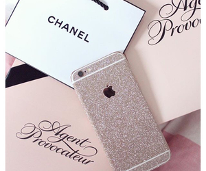 fashion, chanel, and iphone image