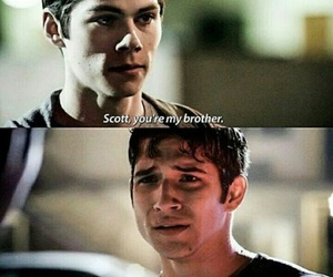 teen wolf, brother, and scott image
