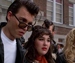 johnny depp, cry baby, and 90s image