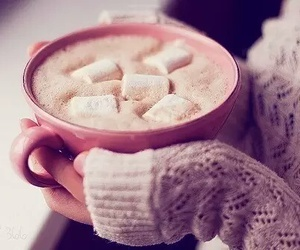 chocolate, Hot, and sweater image