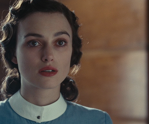 atonement, keira knightley, and movie image