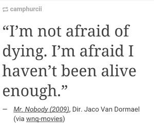 afraid, alive, and life image