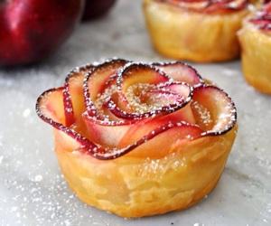 food, apple, and sweet image