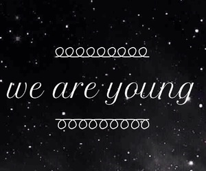 are, ate, and we are young image