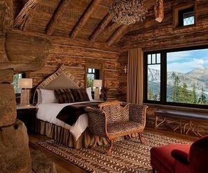beautiful, wood, and house image