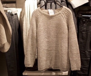 aesthetic, cream, and jumper image