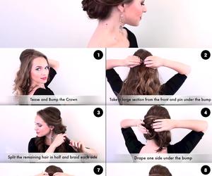 diy, hairtutorials, and diy tutorials hair image