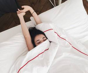 girl, bed, and goals image