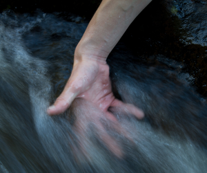 hand, water, and movement image