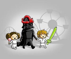 star wars and LUke image