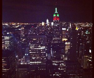 empire state, i love new york, and new york image