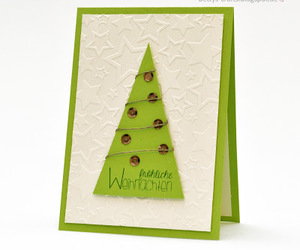 diy, scrapbooking, and christmascard image