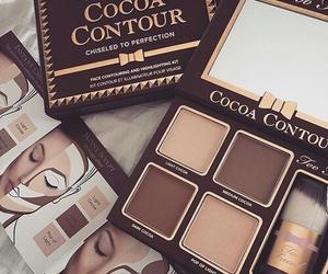 makeup, contour, and beauty image
