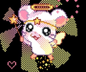 kawaii, mouse, and pixels image