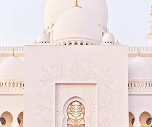 white, architecture, and mosque image