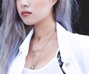aesthetic, dyed hair, and pastel hair image