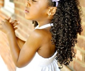 African, beauty, and curly image