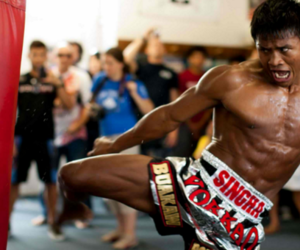 thai boxing and musay thai image