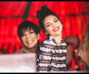 kendall jenner and kris jenner image