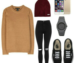 outfit, Polyvore, and simple image