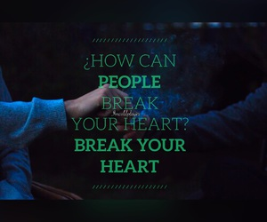 break, coldplay, and hearts image