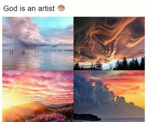 god, art, and artist image