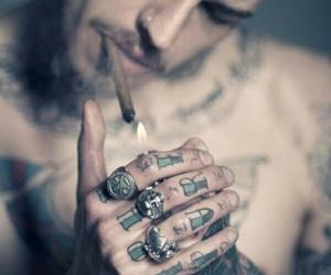 tattoos men hot smoke image