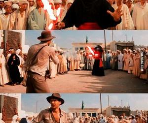 Indiana Jones and star wars image