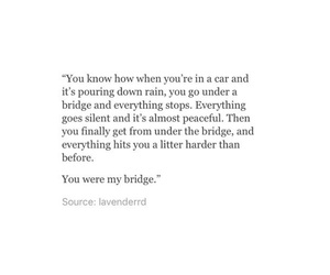 bridge, peaceful, and quotes image