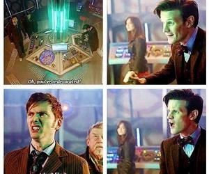 doctor who, tardis, and matt smith image
