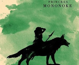 princess mononoke, anime, and ghibli image