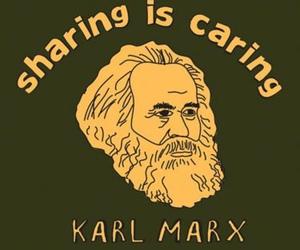 funny, lol, and karl marx image