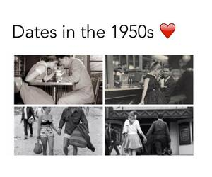 boy, dates, and girl image