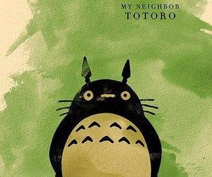 totoro, ghibli, and My Neighbor Totoro image