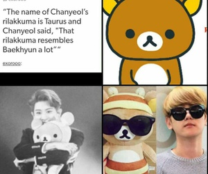 exo, chanyeol, and exo facts image