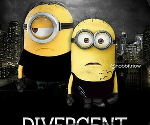 black, minions, and movies image
