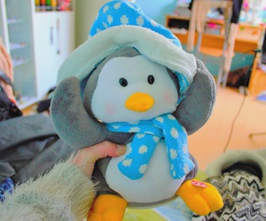 penguin, tumblr, and winter image