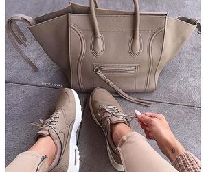 fashion, nike, and bag image