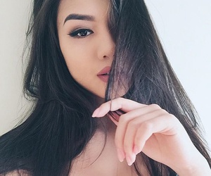 asian, beautiful, and dope image
