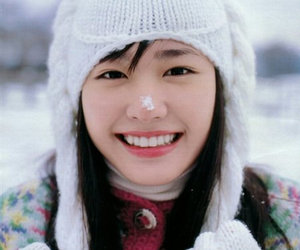 actress, aragaki yui, and winter image