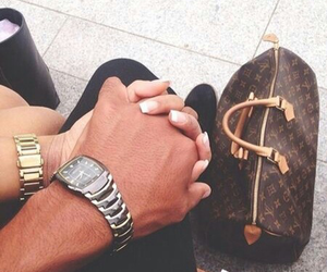 couple, love, and Louis Vuitton image