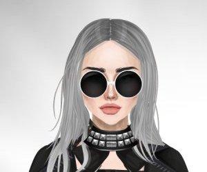 blonde, fashion, and grunge image