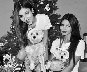 christmas, victoria justice, and maddy grace image