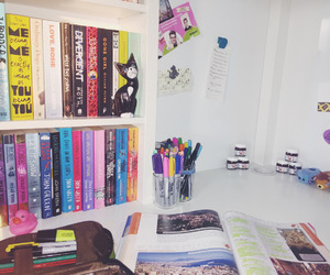books, girly, and inspiration image